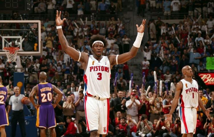 Ben Wallace champion NBA en 2004 | PistonsFr, actualité des Pistons en France